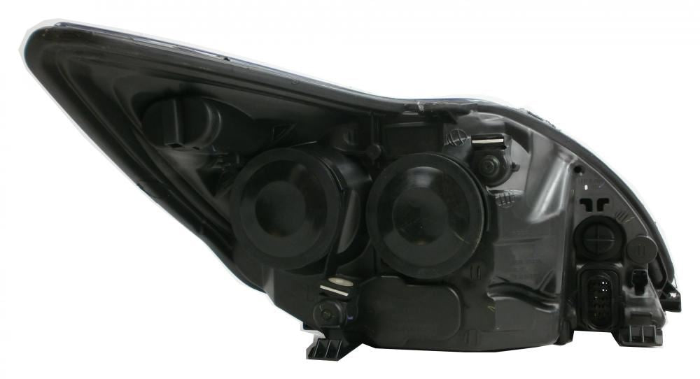 Ford Focus Mk2 Estate 3/2008-6/2011 Black Inner Headlight Passenger Side N/S