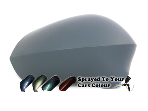 Seat Leon Mk.2 (Excl. FR) 6/2009-6/2013 Wing Mirror Cover Drivers Side O/S Painted Sprayed