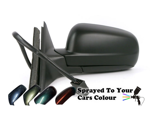 VW Passat Mk5 97-4/2004 Electric Wing Mirror 12 Hole 5 Pin Passengers Painted Sprayed