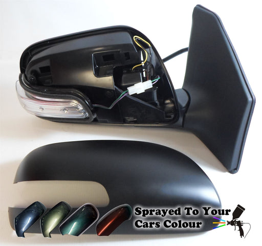 Toyota Avensis 7/2006-6/2009 Wing Mirror Power Folding Drivers Side Painted Sprayed