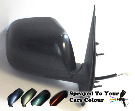 Nissan Micra Mk4 9/2010-8/2017 Electric Wing Mirror Drivers Side O/S Painted Sprayed