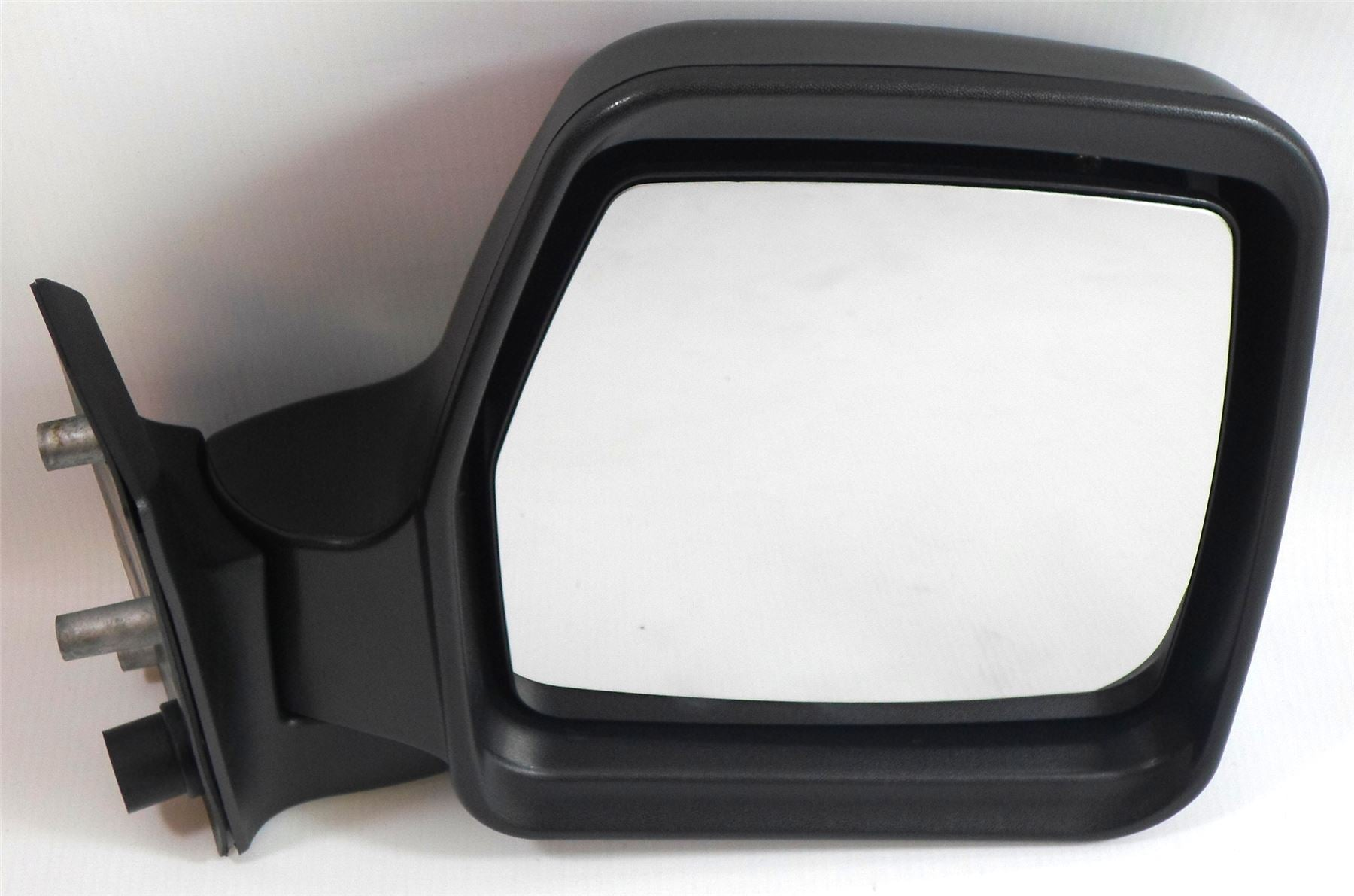 Peugeot Expert Mk.1 1995-2006 Manual Wing Mirror Black Textured Drivers Side O/S