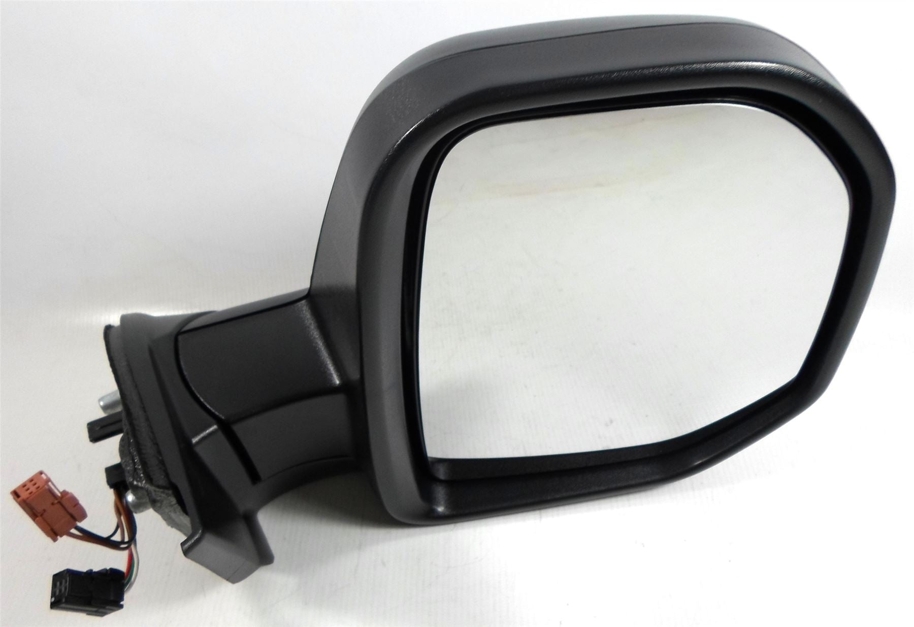 Peugeot Partner 7/08-4/2012 Electric Wing Mirror Black Temp Sensor Drivers Side