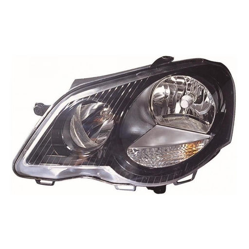 VW Polo Mk4 Gti 9N3 Hatch 6/2005-3/2010 Headlight Headlamp Passenger Side N/S