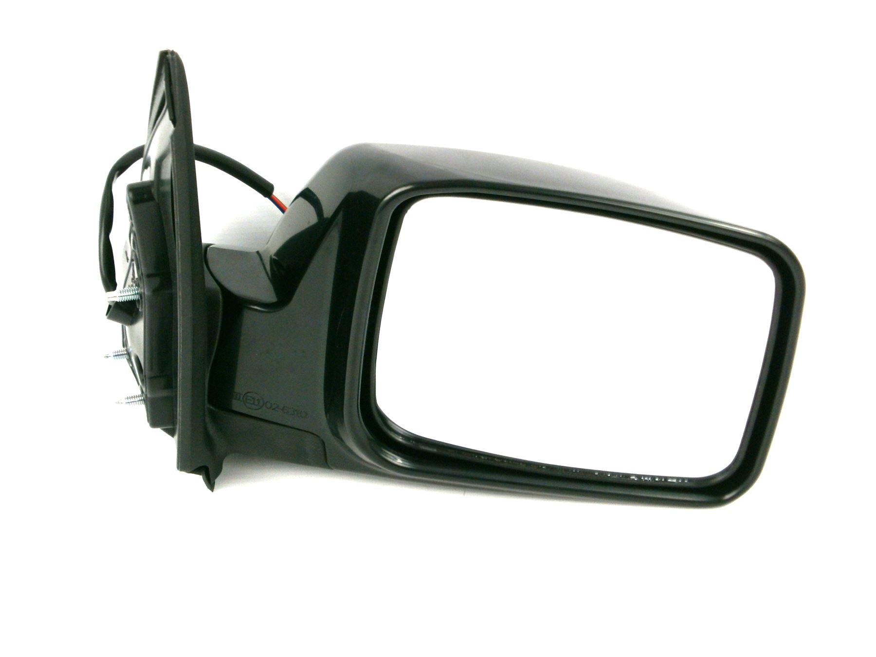 Nissan X-Trail 2001-9/2007 Wing Mirror Power Folding Polished Black Drivers Side