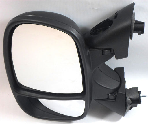 Renault Trafic 2001-2006 Electric Heated Wing Mirror Black Passenger Side N/S