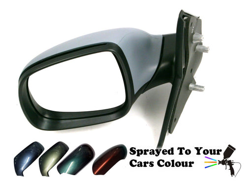 VW Transporter T5 1/2010-2015 Manual Wing Mirror Passenger Side N/S Painted Sprayed