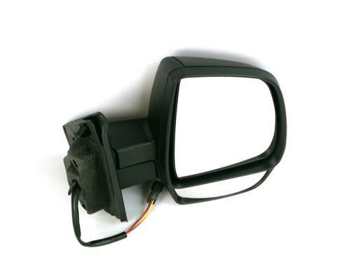 Vauxhall Combo 2012+ Twin Glass Wing Mirror Electric Temp Sensor Black Drivers