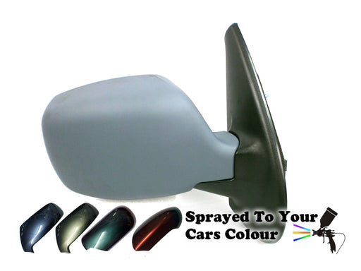 Nissan Kubistar 2003-2009 Electric Wing Mirror Heated Drivers Side O/S Painted Sprayed