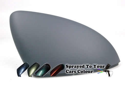 Volkswagen Touran Mk.2 7/2015+ Wing Mirror Cover Drivers Side O/S Painted Sprayed