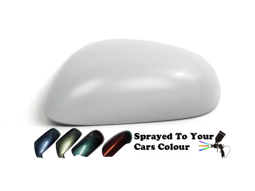 Seat Leon Mk.2 (Excl. FR) 9/2005-9/2009 Wing Mirror Cover Passenger Side N/S Painted Sprayed