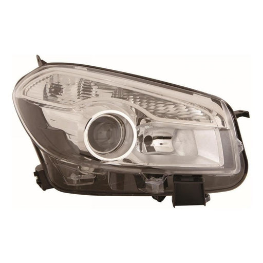 Nissan Qashqai J10 SUV 4/2010-6/2014 Headlight Headlamp Drivers Side O/S