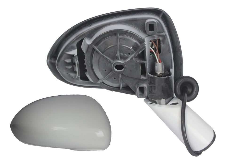 Vauxhall Corsa D 7/06-4/15 Electric Wing Mirror Paintable Arm & Cover Drivers