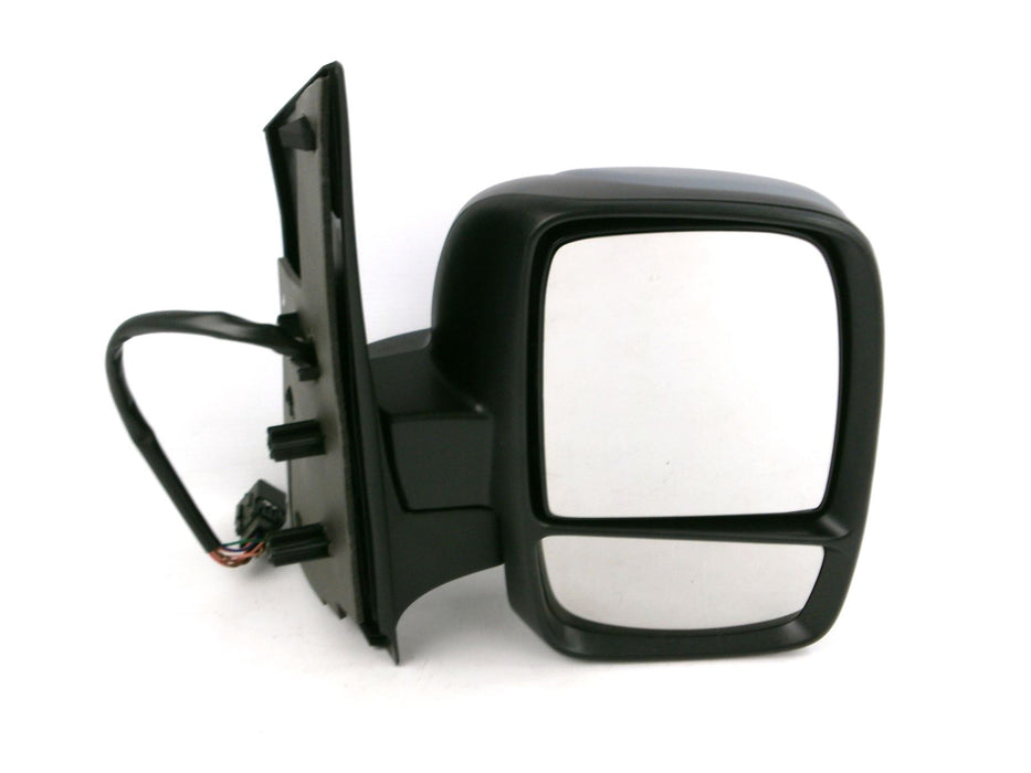 Fiat Scudo Mk2 2007+ Twin Glass Wing Mirror Power Folding Primed Drivers Side