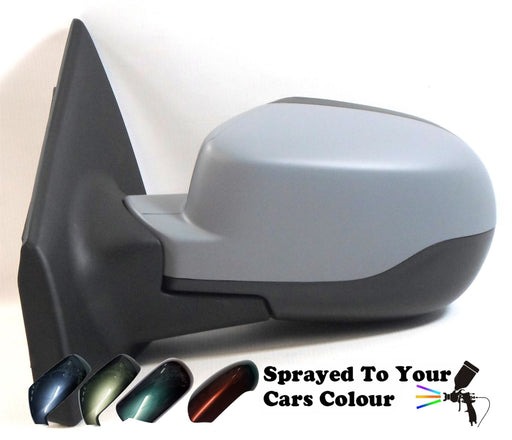 Renault Clio Mk3 5/2009-4/2013 Electric Wing Mirror Passenger Side N/S Painted Sprayed
