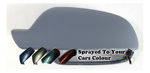 Audi A4 Mk.3 (Excl. S4 & RS4) 9/2010-6/2016 Wing Mirror Cover Passenger Side N/S Painted Sprayed