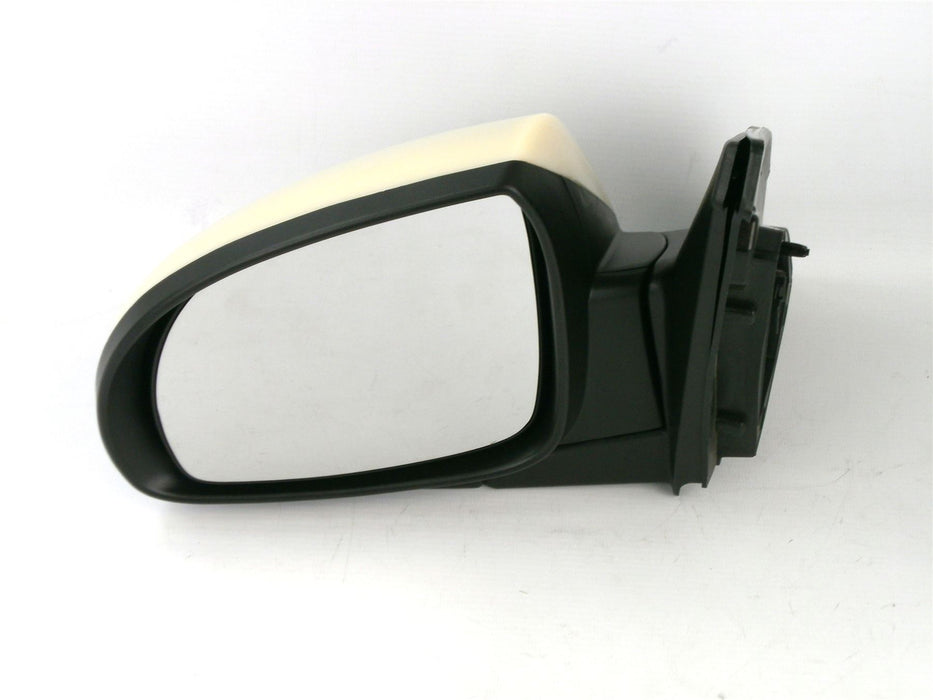 Kia Picanto 7/07-9/11 Electric Wing Mirror Heated Unprimed 5 Pin Passenger Side