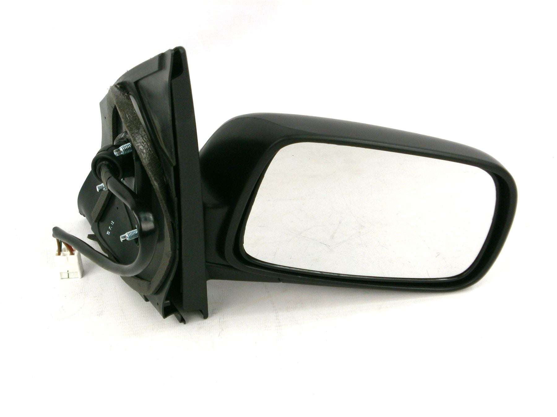 Toyota Yaris Mk.1 1999-5/2003 Electric Wing Mirror Heated Black Drivers Side O/S
