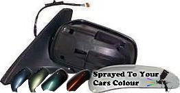 Mazda 323 Mk.5 1998-2003 Electric Wing Mirror Passenger Side N/S Painted Sprayed