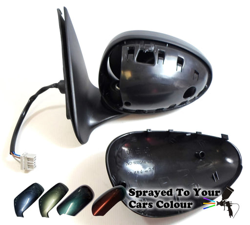 Rover Group MGZS 2001-2006 Electric Wing Mirror Heated Passengers N/S Painted Sprayed