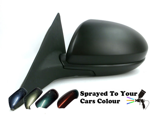 Mazda 6 Mk2 1/2008-2012 Electric Wing Mirror Heated Passenger Side N/S Painted Sprayed