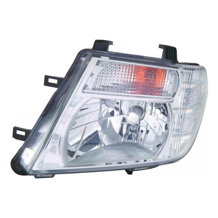 Nissan Navara D40 Pickup 3/2010-4/2016 Headlight Headlamp Passenger Side N/S