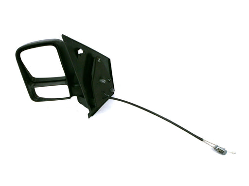 Ford Transit Connect 02-9/09 Twin Glass Wing Mirror Cable Black Passenger Side