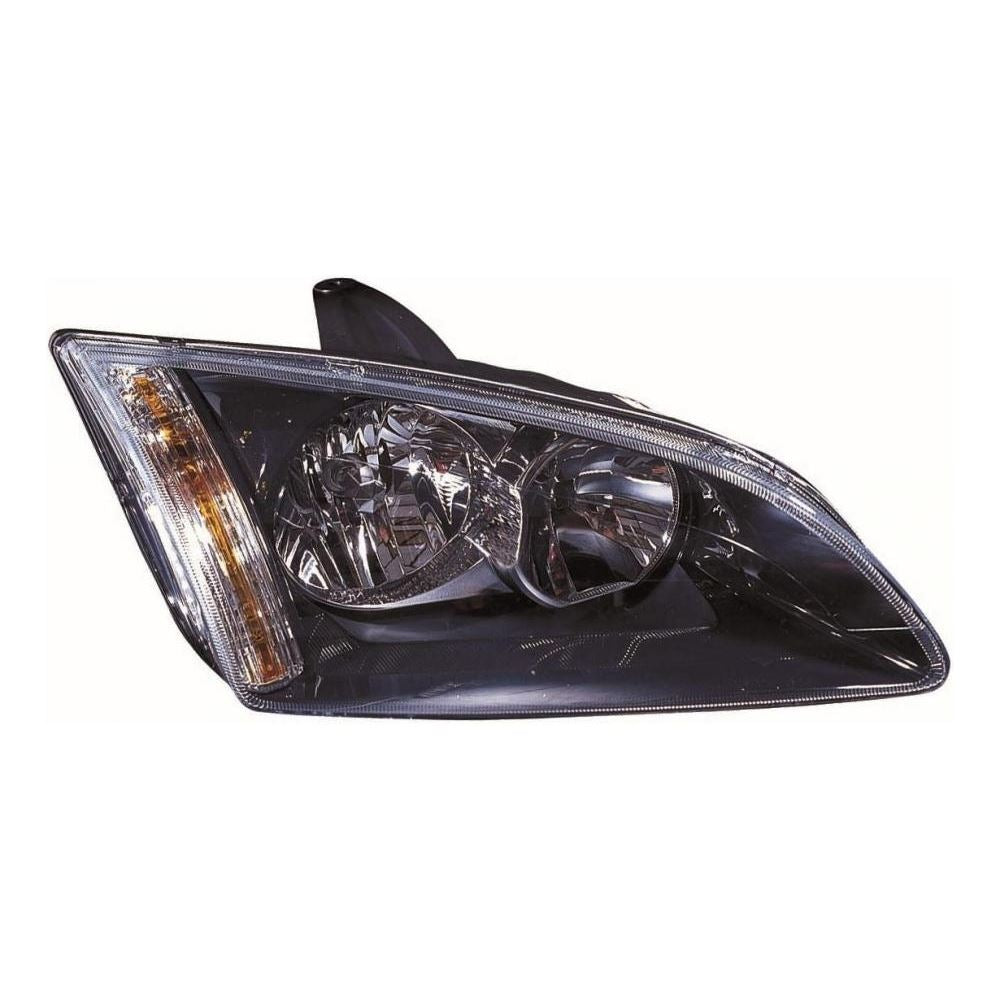 Ford Focus Mk2 Hatchback 2005-5/2008 Black Inner Headlight Lamp Drivers Side O/S