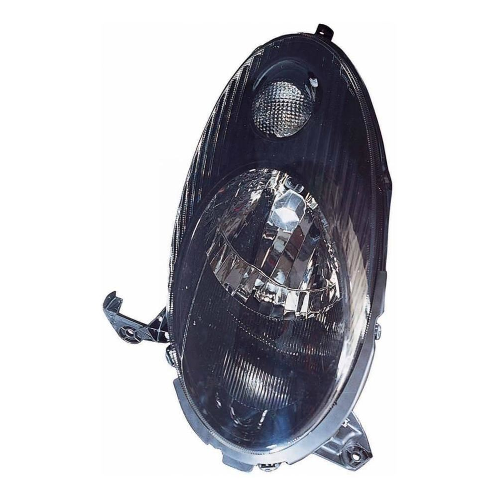 Nissan Micra K12 Hatch & Cabrio 2003-2007 Black Inner Headlight Drivers Side O/S