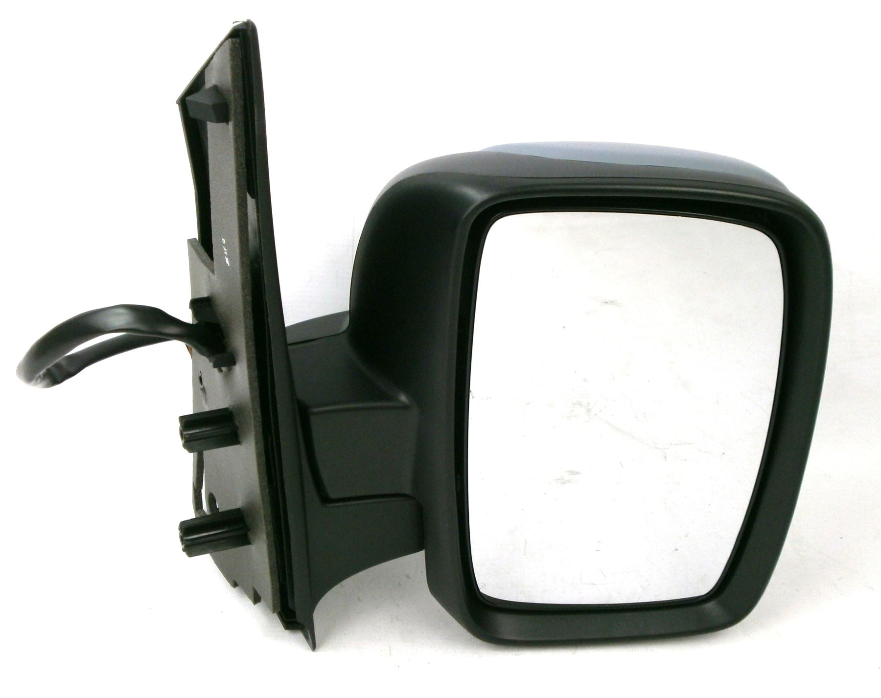 Fiat Scudo Mk2 2007+ Single Glass Wing Mirror Power Folding Drivers Side O/S