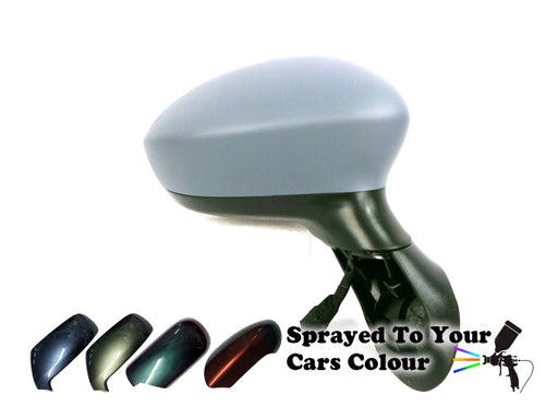 Fiat Punto Evo 2012-2015 Electric Heated Wing Mirror Drivers Side O/S Painted Sprayed