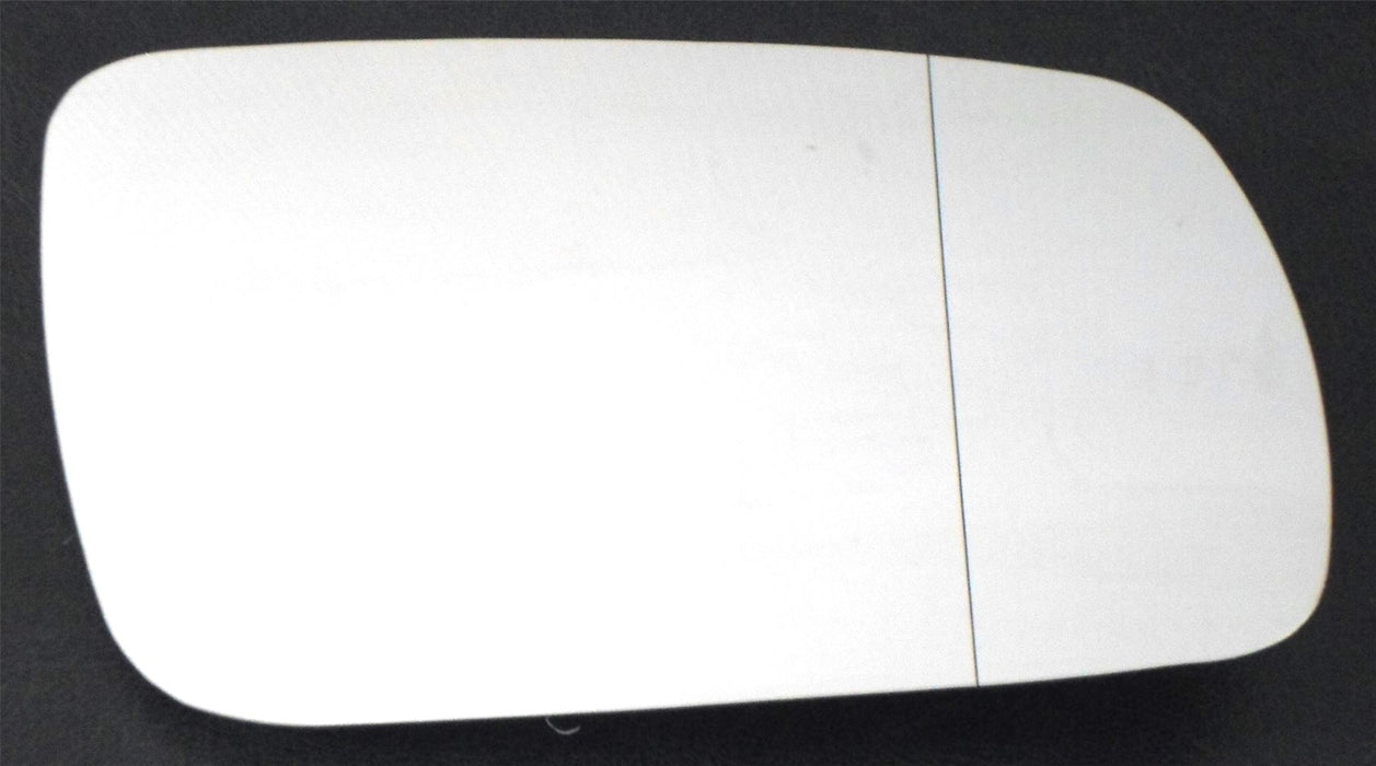 Volkswagen Golf Mk.4 1996-8/2003 Heated Aspherical Chrome Mirror Glass Drivers Side O/S