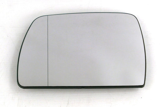 BMW X3 (E83) 2004-3/2011 Heated Aspherical Blue Tinted Mirror Glass Passengers Side N/S