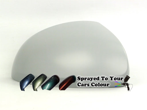 Volkswagen Sharan Mk.3 (Vin 7N…) 9/2010+ Wing Mirror Cover Drivers Side O/S Painted Sprayed