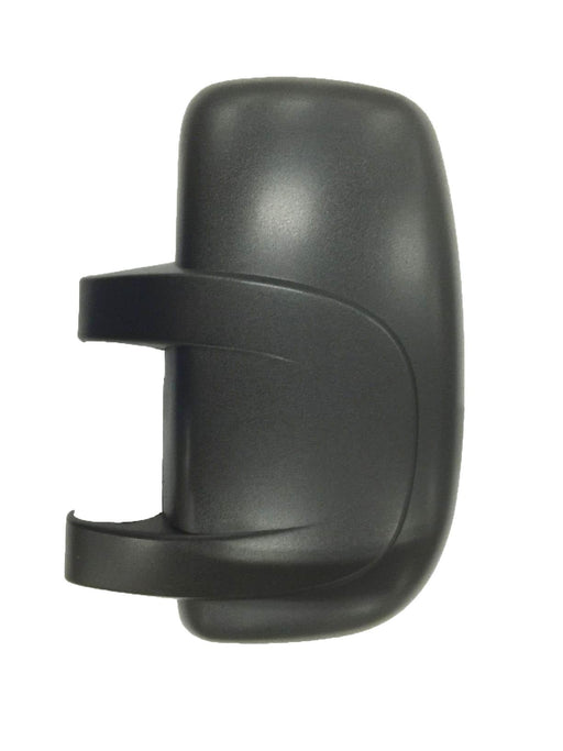 Renault Master Mk.2 10/2003-2010 Black Textured Wing Mirror Cover Passenger Side N/S