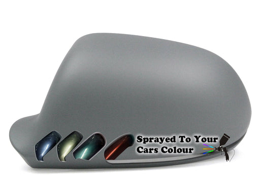 Audi A3 Mk.2 (Excl. S3 & RS3) 7/2008-12/2010 Wing Mirror Cover Passenger Side N/S Painted Sprayed