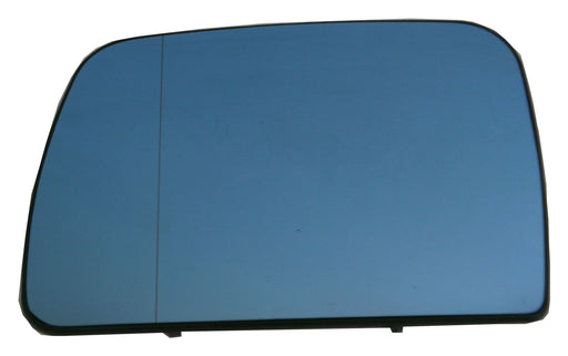 BMW X5 (E53) 2000-2006 Heated Aspherical Blue Tinted Mirror Glass Passengers Side N/S