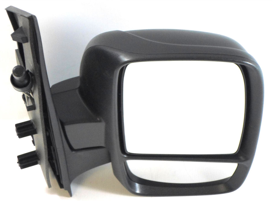 Citroen Dispatch Mk.2 2007+ Twin Glass Wing Mirror Cable Black Drivers Side O/S