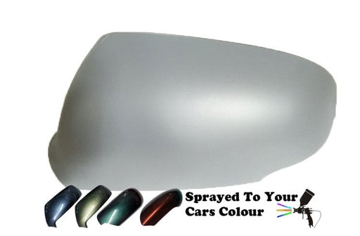 Nissan Micra Mk.3 (K12) Incl. Cabrio 10/2009-12/2010 Wing Mirror Cover Passenger Side N/S Painted Sprayed