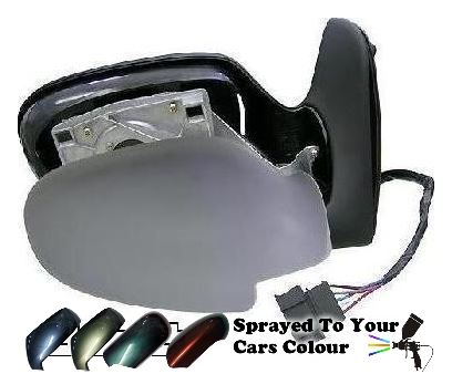 Volkswagen Sharan Mk.1 1995-5/2000 Electric Wing Mirror Drivers Side O/S Painted Sprayed