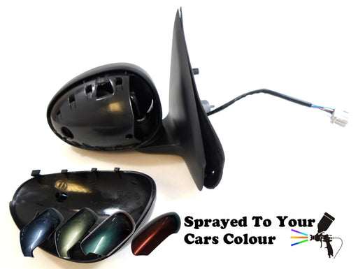 Rover Group 25 1999-2005 Electric Wing Mirror Heated Drivers Side O/S Painted Sprayed