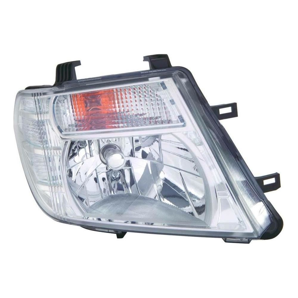 Nissan Navara D40 Pickup 3/2010-4/2016 Headlight Headlamp Drivers Side O/S