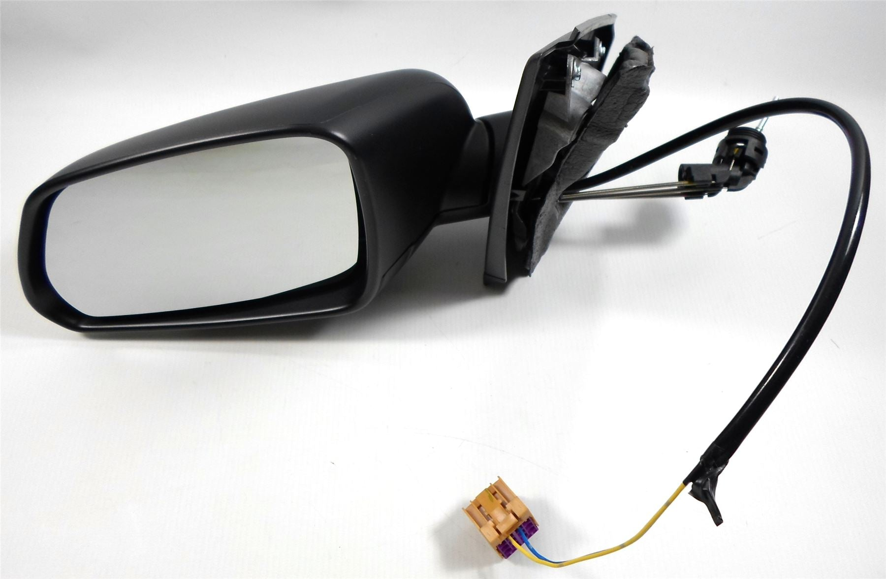 VW Polo Mk4 6/2005-3/2010 Cable Wing Mirror Indicator Black Passenger Side N/S
