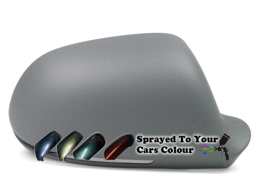 Audi A3 Mk.2 (Excl. S3 & RS3) 7/2008-12/2010 Wing Mirror Cover Drivers Side O/S Painted Sprayed