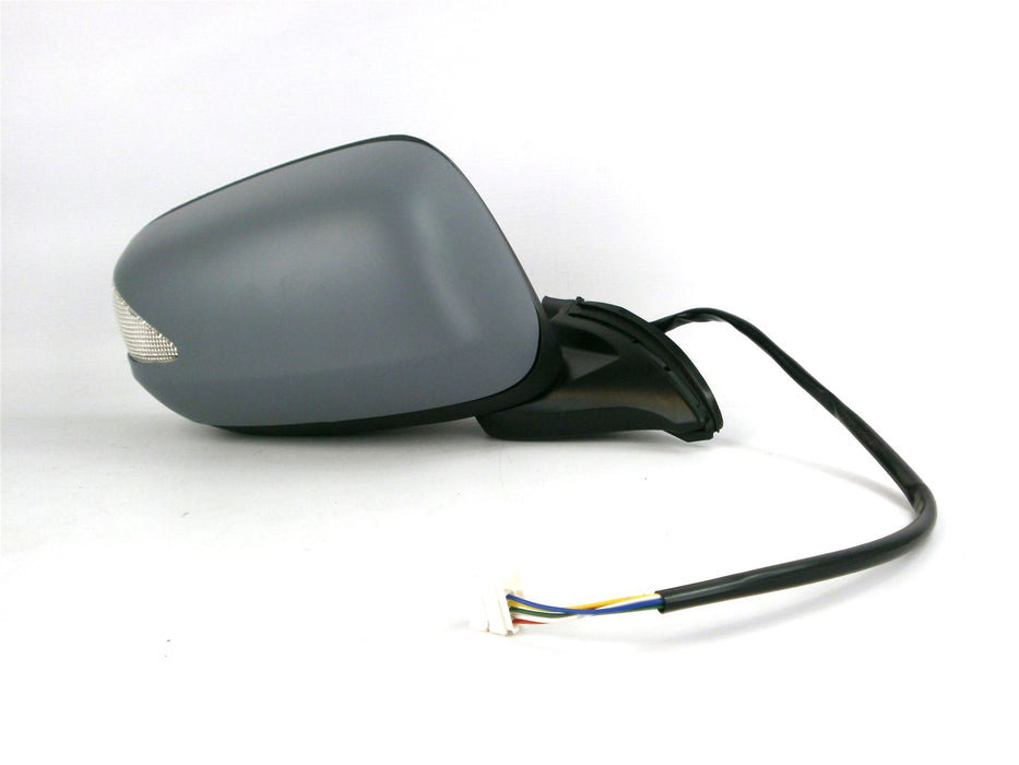 Honda Jazz 10/08+ Electric Wing Mirror Non-Heated Indicator Primed Drivers Side