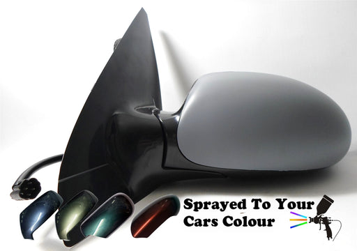 Ford Focus Mk1 1998-4/2005 Electric Heated Wing Mirror Passengers N/S Painted Sprayed