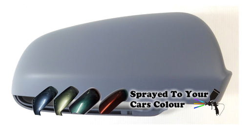 Audi A3 Mk.2 (Excl. S3 & RS3) 3/2003-7/2008 Wing Mirror Cover Drivers Side O/S Painted Sprayed