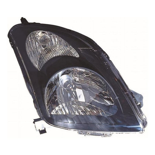 Suzuki Swift Mk3 Hatchback 4/2005-2010 Black Surround Headlight Drivers Side O/S