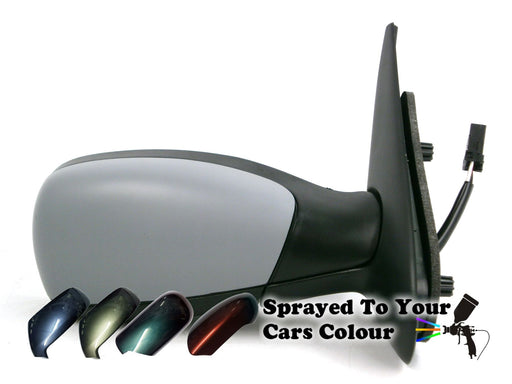 Peugeot 306 1993-2002 Electric Wing Door Mirror Heated Drivers Side O/S Painted Sprayed