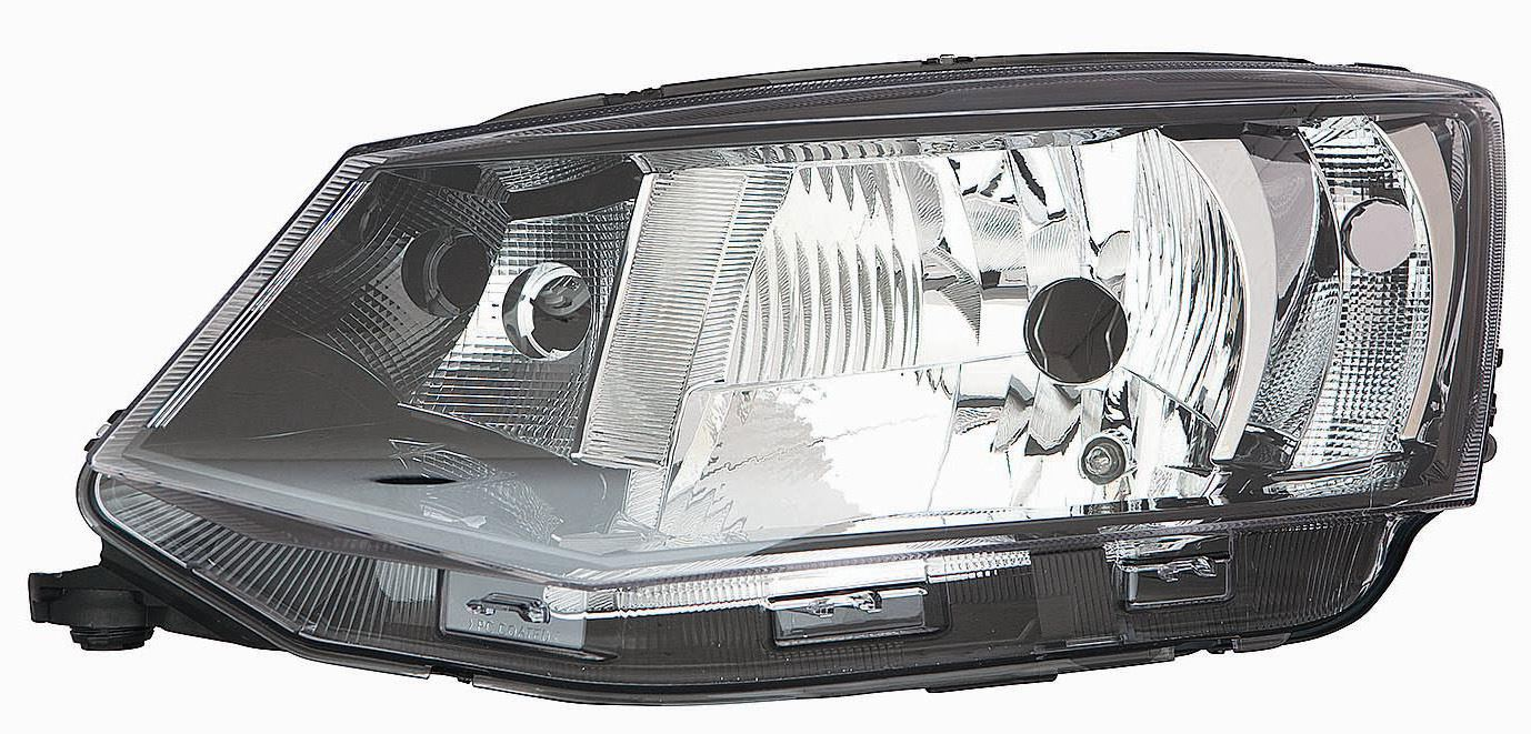Skoda Fabia Mk2 Hatchback 1/2010-4/2015 Headlight Headlamp Passenger Side N/S